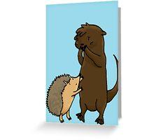 Otterhog Greeting Card