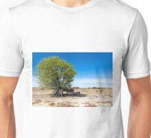 Zebras in the Shadow of the Only Tree - Etosha, Namibia Unisex T-Shirt