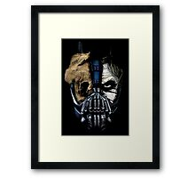 Combo Faces Framed Print