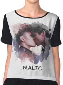 Malec - Shadowhunters - Canvas Chiffon Top
