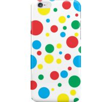 Colourful Polka Dots iPhone Case/Skin
