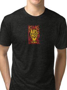 Liverpool FC - LFC - Champions League Cities Tri-blend T-Shirt
