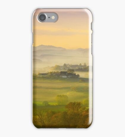 A romantic morning has broken iPhone Case/Skin