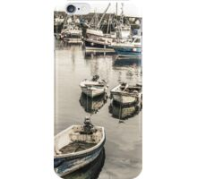 Boats Lined Up - Cornwall iPhone Case/Skin