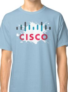 Cisco Logo Splat Classic T-Shirt