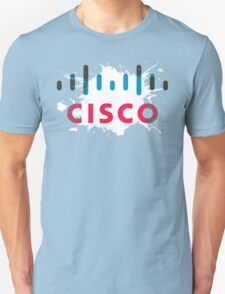 Cisco Logo Splat Unisex T-Shirt