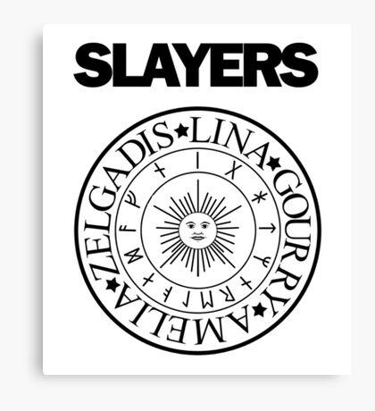 Slayers - Ramones Logo Parody 2 Canvas Print