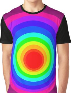 Colorful Spirals Graphic T-Shirt
