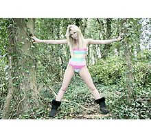 Bianca, Forest Candy Photographic Print