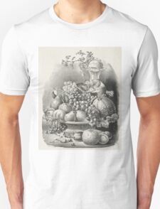 Fruit piece - 1859 - Currier & Ives Unisex T-Shirt