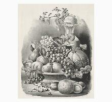 Fruit piece - 1859 - Currier & Ives Unisex T-Shirt