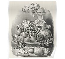 Fruit piece - 1859 - Currier & Ives Poster