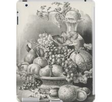 Fruit piece - 1859 - Currier & Ives iPad Case/Skin