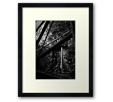The forgotten window Framed Print