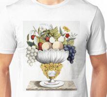 Fruit vase - 1847 - Currier & Ives Unisex T-Shirt