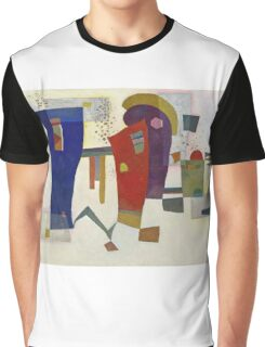 Kandinsky - Accompanied Contrast Graphic T-Shirt