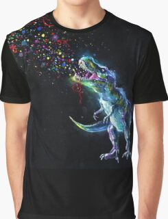 Crystal T-Rex Graphic T-Shirt