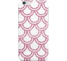 Knitted Fish Scales Pink iPhone Case/Skin