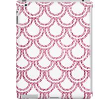 Knitted Fish Scales Pink iPad Case/Skin