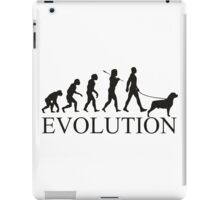 EVOLUTION rottweiler iPad Case/Skin