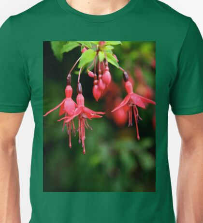 Fuchsia Hedge at Loch Na Fooey 3 T-Shirt