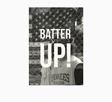 BATTER UP! Womens Fitted T-Shirt