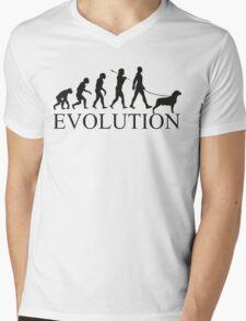 EVOLUTION rottweiler Mens V-Neck T-Shirt