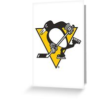 Pittsburgh Penguins hockey Greeting Card