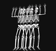 Spooky scary skeleton Unisex T-Shirt