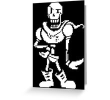 Undertale - Papyrus Battle Pose Greeting Card