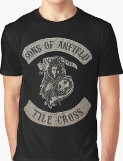 Sons of Anfield - Tile Cross Graphic T-Shirt