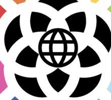 TrianglesSymbolsEC Sticker