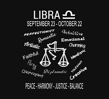 Libra September 23 - October 22 Star Sign Shirt Unisex T-Shirt