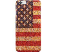 USA America Flag Rusty Old Texture iPhone Case/Skin