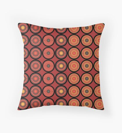 Circles and centers Throw Pillow