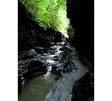 Watkins Glen Gorge II Photographic Print
