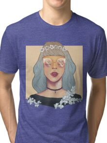 I see right through your sh♥t Tri-blend T-Shirt