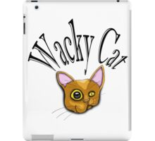 wacky cat iPad Case/Skin
