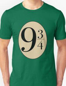 Harry potter platform 9 3/4 T-Shirt