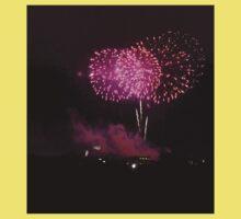 Edinburgh Festival Fireworks - 4 Kids Tee