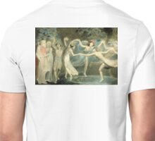 BLAKE, William Blake, Oberon, Titania and Puck with Fairies Dancing. William Shakespeare, A Midsummer Night's Dream Unisex T-Shirt