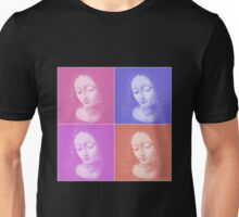 Virgin Mary, Collage Unisex T-Shirt