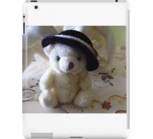 Black hat iPad Case/Skin