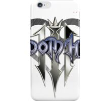 kingdom hearts 3 game poster, sticker and much more iPhone Case/Skin