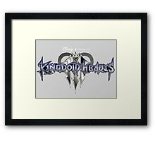 kingdom hearts 3 game poster, sticker and much more Framed Print