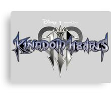 kingdom hearts 3 game poster, sticker and much more Canvas Print