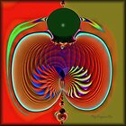 Fractal Fruit... by Roz Rayner-Rix