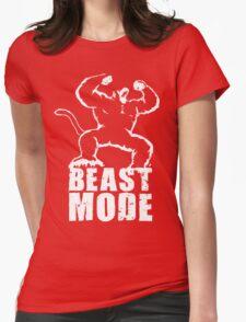 BEAST MODE (Ozaru) Womens Fitted T-Shirt