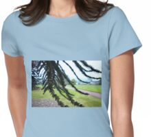 Underneath the Monkey Puzzle Womens Fitted T-Shirt