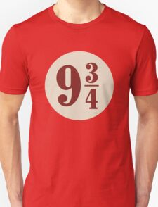 Harry potter platform 9 3/4 Unisex T-Shirt